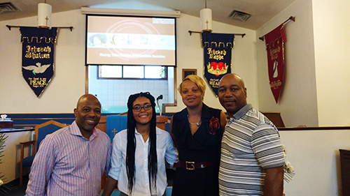 Local Entrepreneurs Participate in South Ward Workshop