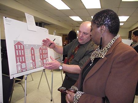 South Ward Stakeholders Contribute to Proposed  Bergen Street Redevelopment Plan at Community Meeting
