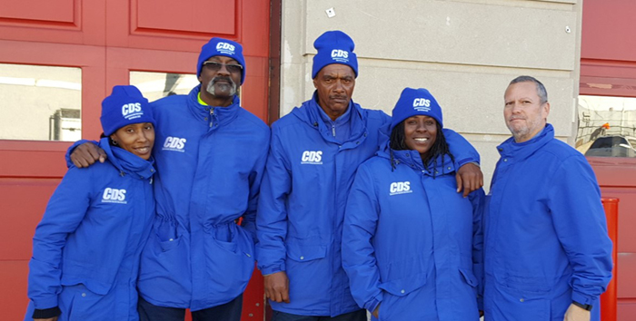 Fall/Winter Seasons Present New Challenges for  South Ward SID's Clean Team Ambassadors