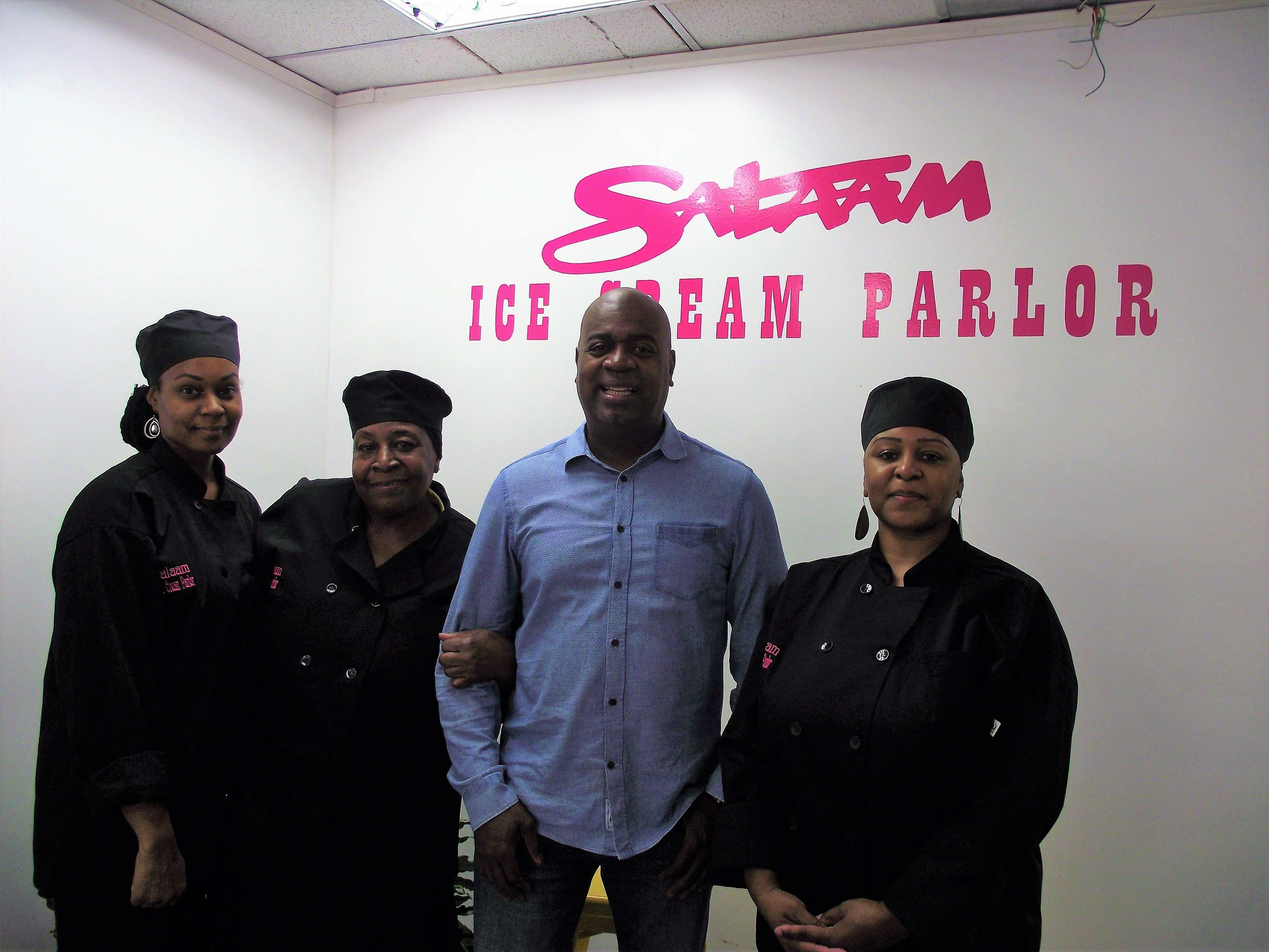 Locally and Family-Owned Salaam Ice Cream Parlor Opens on Bergen Street