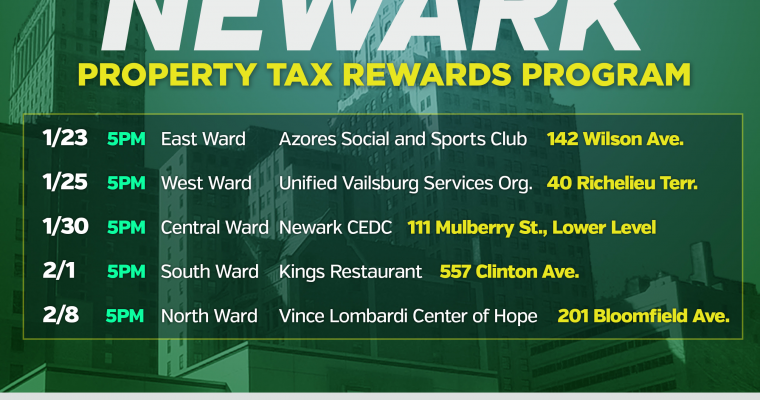 Property Tax Rewards