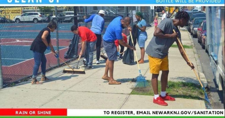 Citywide Clean Up in Newark – Saturday, April 14 in the South Ward!