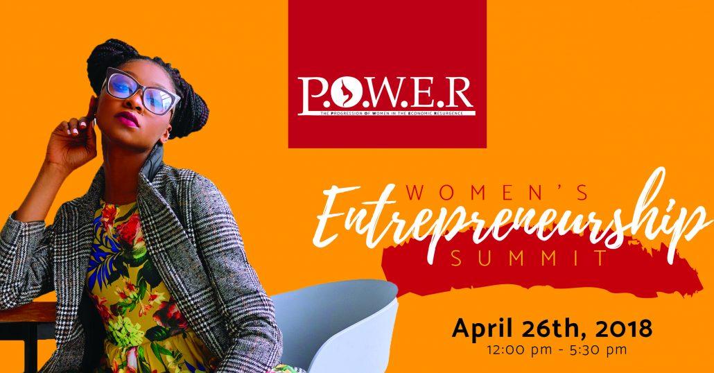 P.O.W.E.R Women's Entrepreneurship Summit – Thursday, April 26 at NJPAC