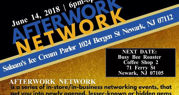Second Thursdays Afterwork Network in the South Ward SID June 14th – Salaam Ice Cream Parlor, 1024 Bergen Street