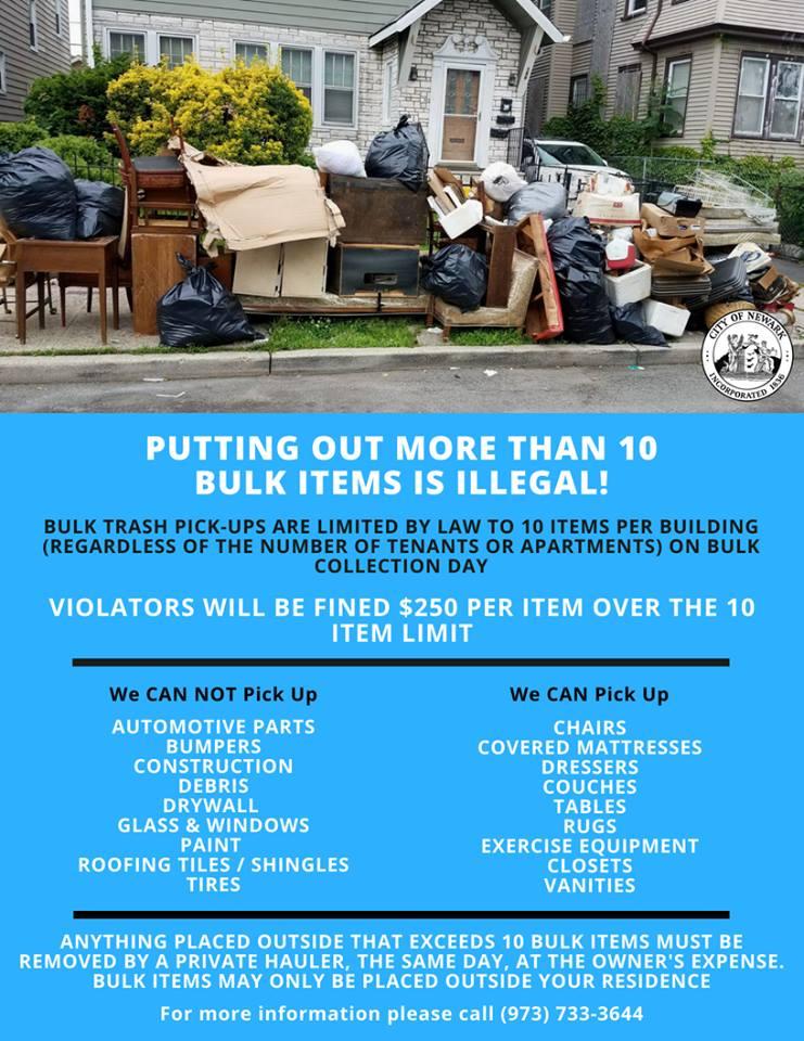Bulk Trash Rules