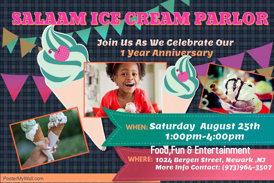 Salaam Ice Cream Parlor Celebrates