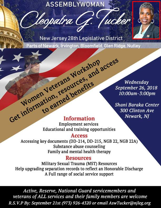 Women Veterans Workshop